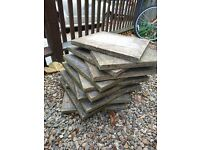 26 x Flagstones Available Cheap