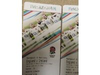 2 x England vs. Ireland tickets- Twickenam 17/02/2018