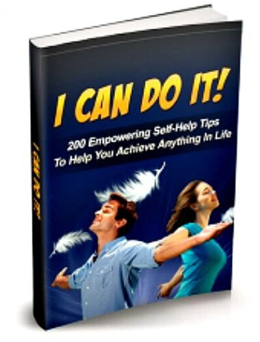 I Can Do IT! PDF eBook with Full resale rights!