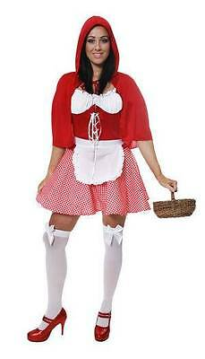Red Riding Hood Halloween Fancy Dress  Story book character  one size 8 10 12