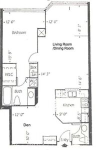 Yonge/Sheppard - 1+1/1.5 baths/1parking/utilities -Sep 1 - $2450