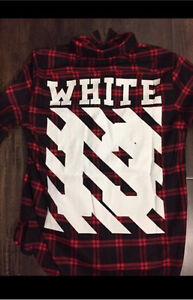 NEW OFF WHITE flannel