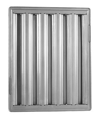 Exhaust Hood Grease Filter Baffle 20x16 Stainless 31206