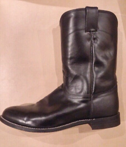 Justin Western Cowboy All Leather Boot