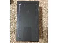 iPhone 7 Plus 256GB JET BLACK sealed