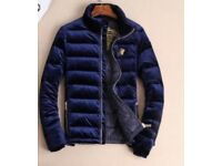 VERSACE JACKET BLUE