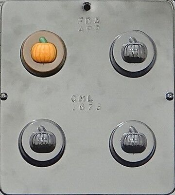Pumpkin Chocolate Oreo Cookie Mold Halloween  1673 NEW - Halloween Oreo Cookie Molds