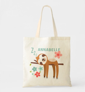 Cute Sloth Illustration Tote Bag (20% off with)