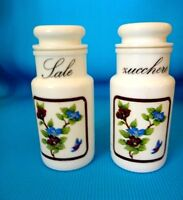 Vintage Italian Salt and Sugar containers
