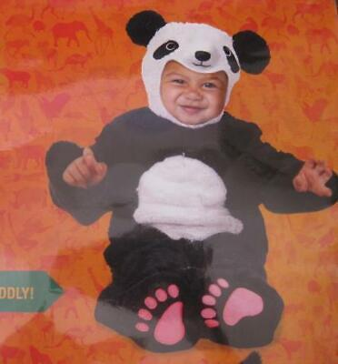 ANIMAL PLANET toddler baby plush Panda bear outfit costume HALLOWEEN NEW - Panda Bear Costume Toddler