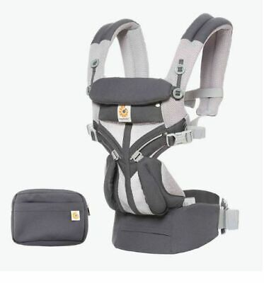 NEW Ergo OMNI 360 Baby Carrier All-In-One Cool Air Mesh - Carbon Grey
