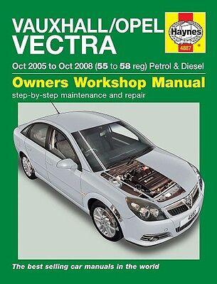 Haynes Vauxhall Opel Vectra Petrol & Diesel 2005-2008 Manual 4887 NEW