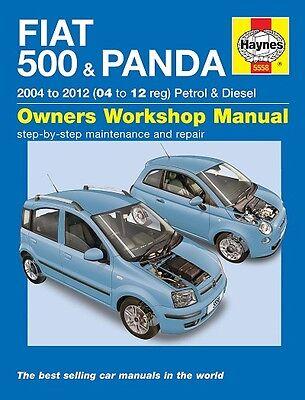 Haynes Fiat 500 & Fiat Panda 2004-2012 Manual 5558 NEW