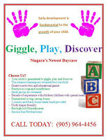 Giggle, Play, Discover Home Daycare