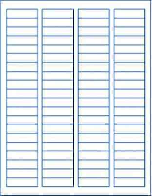 2000 Labels Return Address White Blank Made In Usa