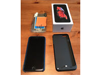 iPhone 6S plus 128GB space grey, unlocked. As new condition with original box + accessories