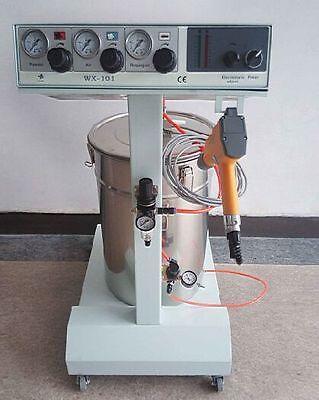 Electrostatic Powder Coating Spray Gun Spray Machine 101 Paint System 110v220v