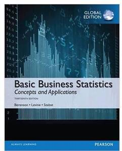 Value Pack Basic Business Statistics (Global Edition) Mount Lawley Stirling Area Preview