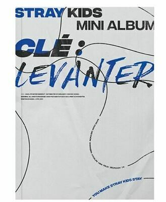 Clé : LEVANTER by STRAY KIDS Mini Album [Clé Ver.] White