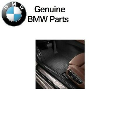 For BMW F12 F13 6 Series Front All Weather Rubber Floor Mats Genuine 51472163801