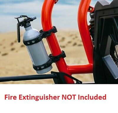 Open Trail Fire Extinguisher Roll Cage Mount Kit For UTV's with 1 3/8