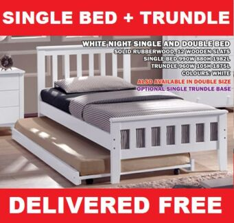 DELIVERED FREE Single Timber Bed with Trundle - BRAND NEW New Farm Brisbane North East Preview