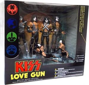 Kiss Love Gun McFarlane Figures Box Set NEW MINT SEALED