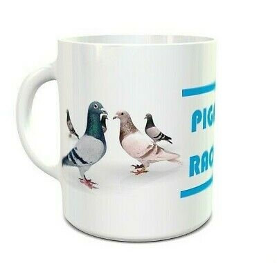 Pigeon Racing Mug - Pigeons - COFFEE MUG CUP - Sports - Hobbies - Gifts