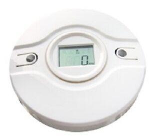 CO detector Wireless toxic gas sensor LCD screen