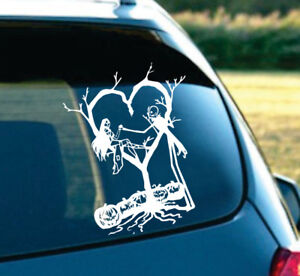 nightmare before christmas car decal ebay. Black Bedroom Furniture Sets. Home Design Ideas