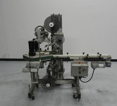 Quadrel Top And Bottom Label Machine Fully Automatic