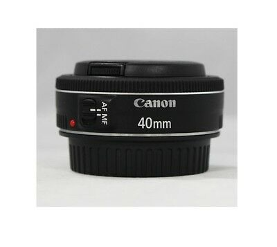 Canon EF 40mm f/2.8 STM Lens Black