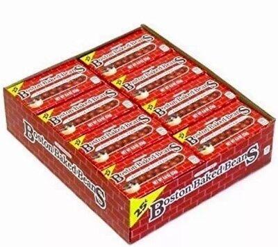 Ferrara Pan Candy (Boston Baked Beans 24 Count Ferrara Pan Candies Bulk Candy Bean Peanut)