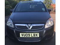 VAUXHALL ZAFIRA USING FOR WOLVERHAMPTON TAXI - 4 OWNERS - 174,000 MILES - MOT TILL 26.10.2018