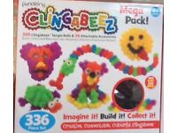 96 New CLINGABEEZ MEGA Packs. 336 Pieces per Pack. Creative Toy for 4yrs + .