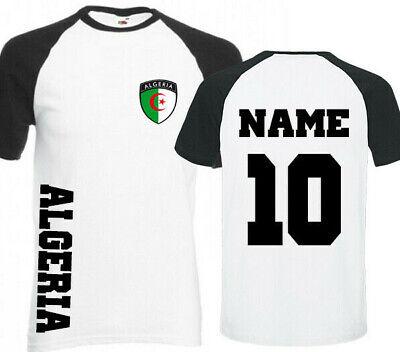 T Shirt Maillot Homme Football Algerie Al Djazair Maghreb United Muslim Drapeau Ebay