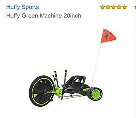 Green Huffy Machine