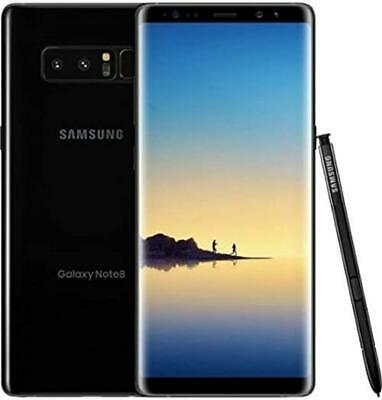 EXCELLENT Samsung Galaxy Note 8 SM-N950U 64GB BLACK Verizon Smartphone UNLOCKED
