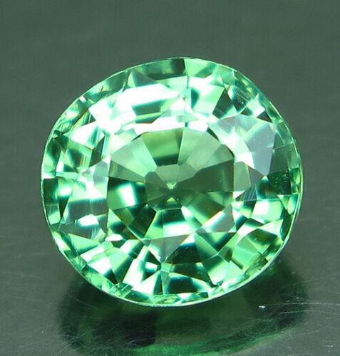 1.38ct. Oval Mint Green Tsavorite Garnet VVS