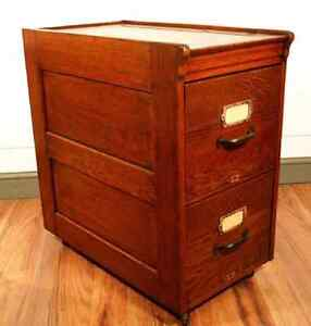 Wanted: Antique wood filing cabinet
