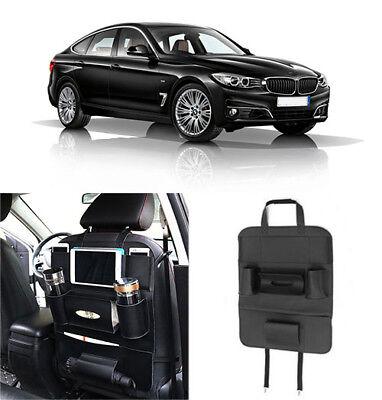 Hot Car Accessory Seat Back Multi-Pocket Leather Storage Bag Organizer (Millenia Stores)