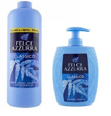 Felce Azzurra classico Flüssigseife Spender 300ml+750ml Refill