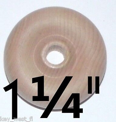 """1 1/4"""" Wood Toy Wheels for Cars Trucks Trains Crafts~ Lot of"""