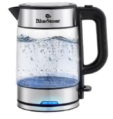 BLUESTONE Electric 100% BPA Free Speed Boiling Kettle Auto Shutoff - 1.7L 1500W