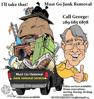 JUNK REMOVAL CALL US BEEN REMOVING JUNK 20 + YEARS