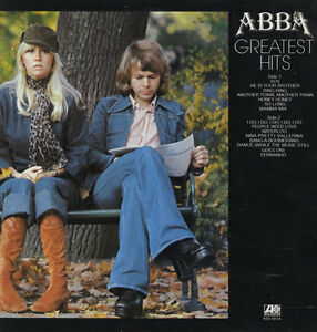 ABBA Greatest Hits - 14-track vinyl compilation LP