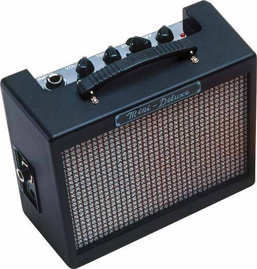 Fender Mini Deluxe MD-20 Travel Portable Electric Guitar Amplifier Amp