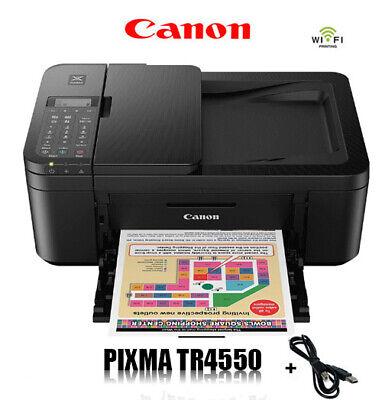 CANON PIXMA TR4550 MULTIFUNKTIONS DRUCKER SCANNER KOPIERER WLAN WIFI * NEU *