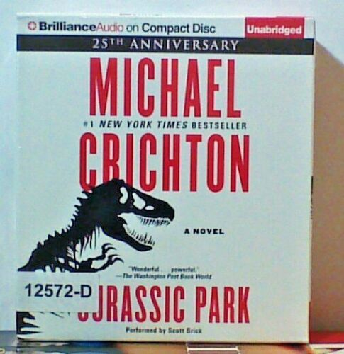 NEW *Sealed* AUDIO BOOK on CDs JURASSIC PARK Michael Crichton