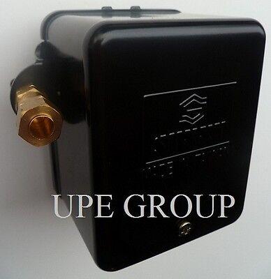Pressure Switch For Air Compressor 25 Amp Heavy Duty Metal Enclosure 95-125 Sm2